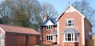 Elmsley Lodge new house, Cheveley